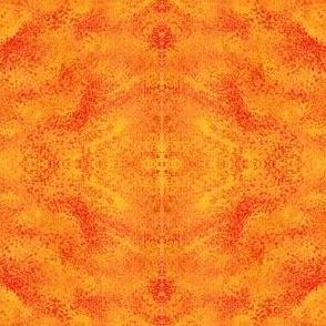 Sun Rays in Orange Yellow