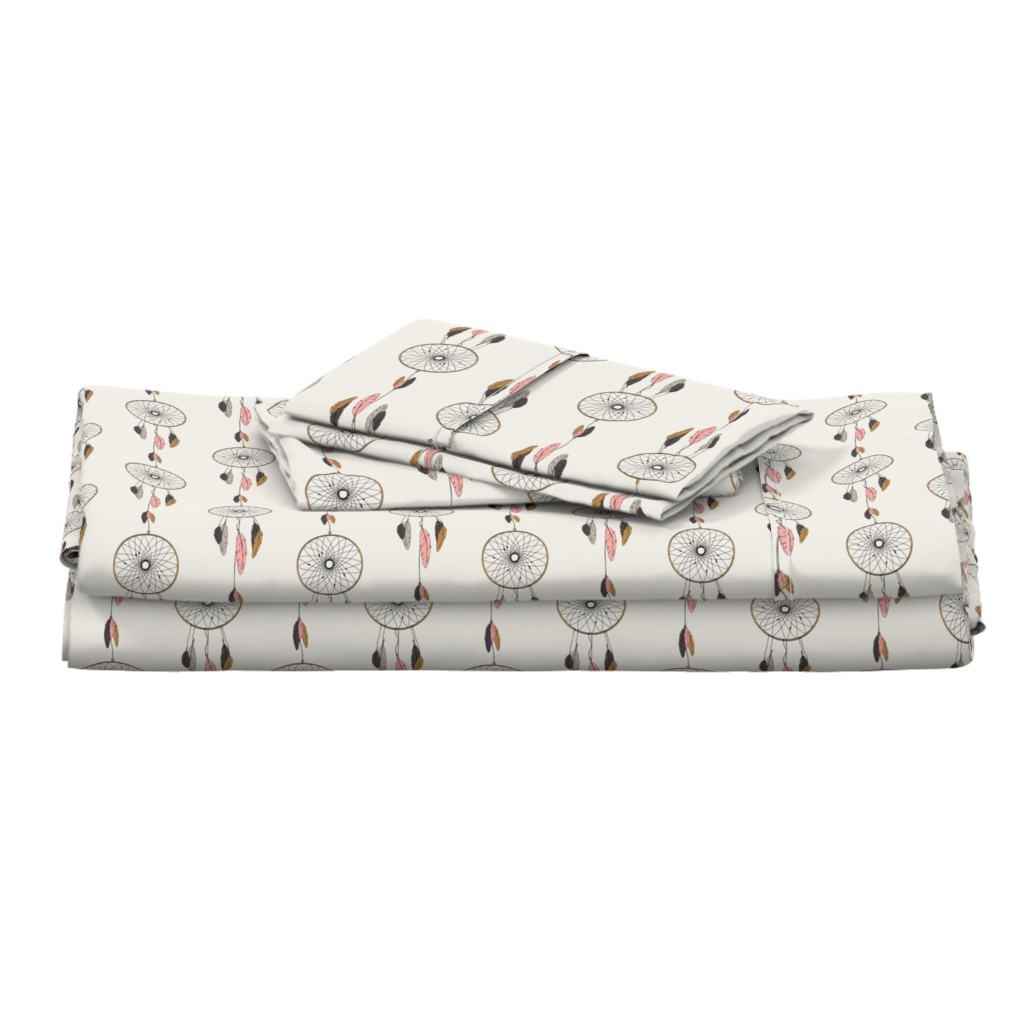 Langshan Full Bed Set featuring dreamcatchers (90) by littlearrowdesign