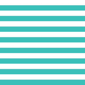 Stripes  // turquoise