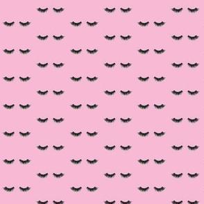 EyeLashes Pink Smaller Scale