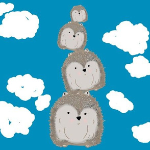 Hedgehogs In The Clouds