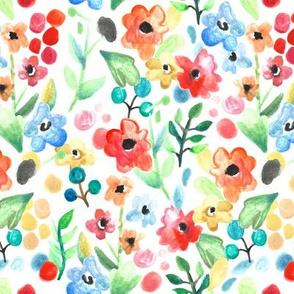 Flourish - Watercolor Floral