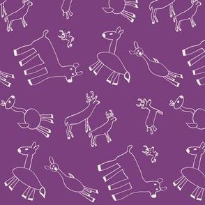 Happy Herd (Purple)