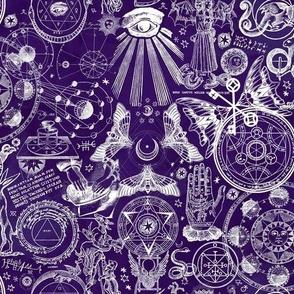 Dark Purple Mystic Occult