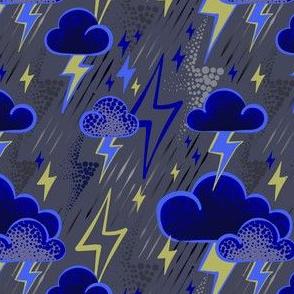 Lightning - Grey/Blue