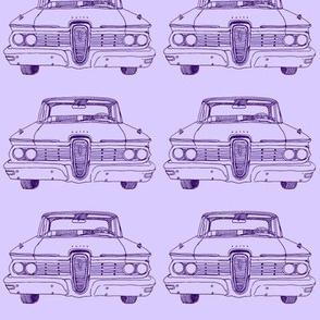 Purple 1959 Edsel Ranger or Corsair