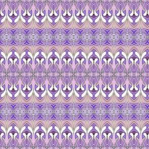 Swirlygig in purple