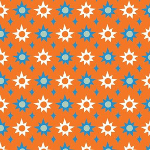 Big & Bright Stars - orange