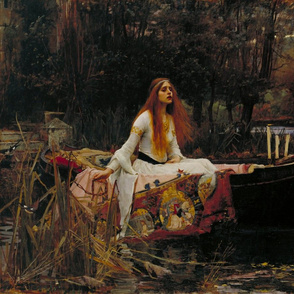 The Lady Of Shallot 1888 ~ Original Painting