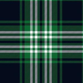 Tweedside green tartan