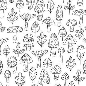 Fungi and Fun Leaves