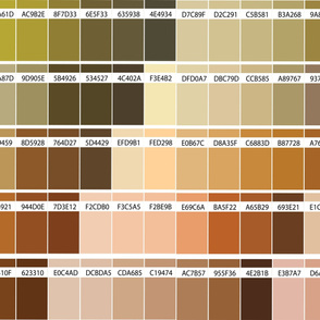 16-04c Color Swatch map brown-02_Miss Chiff Designs
