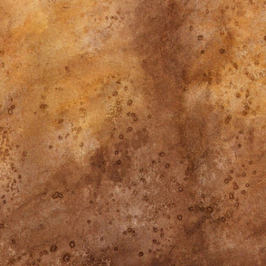 Brown Watercolor Abstract