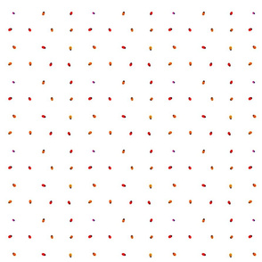ladybug mini white Braille dot