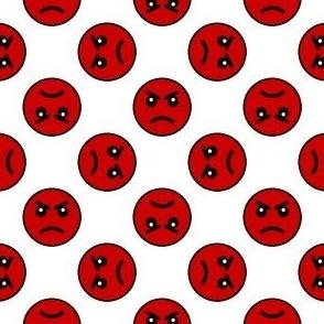 05458676 : smiley 4g X : angry