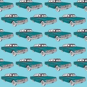 1960 Edsel Ranger on blue