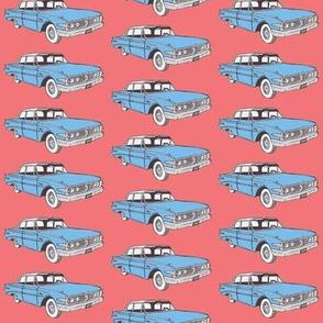 1960 Edsel Ranger 2 door sedan Ranger in light blue