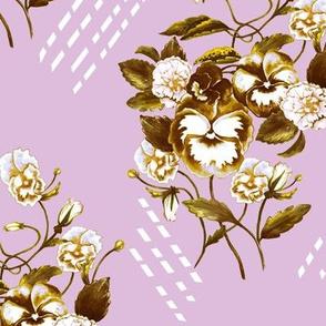 Pansy Retro Lilac 2