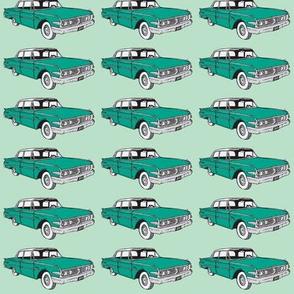 1960 Edsel Ranger on green