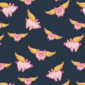 Flying Pig Gray Smaller Scale © Jennifer Garrett