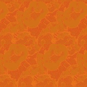 poppies (burnt orange)