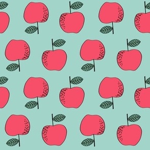 apples // red apples fruit fruits cute fall autumn kids vegan
