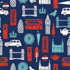 london uk great britian stamps linocuts icons cities travel world