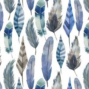Swedish pattern of light blue and gray