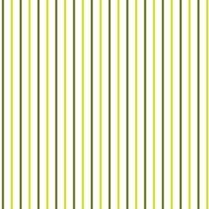 Lime Forest Olive Green Pinstripe  Stripe || Fig Leaf Vine Leaves Summer Fruit_Miss Chiff Designs