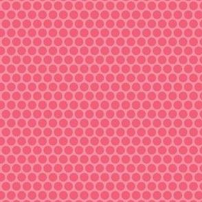 Rose Pink Tone Honeycomb Dot