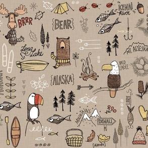 Alaskan Adventure - brown