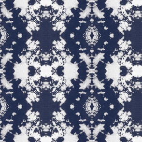 Shibori 7647 Azul | Michelle Mathis