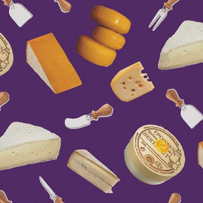 16-20F French Cheese on Purple 5B2C6F