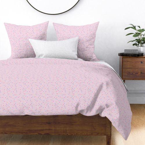 Pink Ice Cream Sprinkles Spoonflower, Ice Cream Sprinkles Bedding