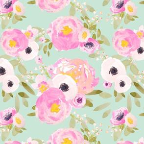 Indy Bloom Design Minted Florals