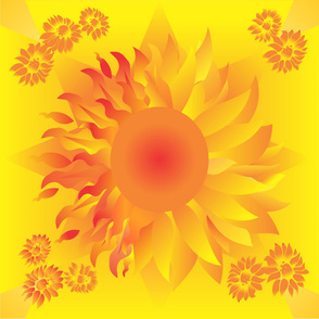 Sun/Flower Large