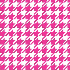 16-08f Hot Pink Houndstooth SM_Miss Chiff Designs