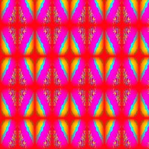 Neon Argyle Diamonds