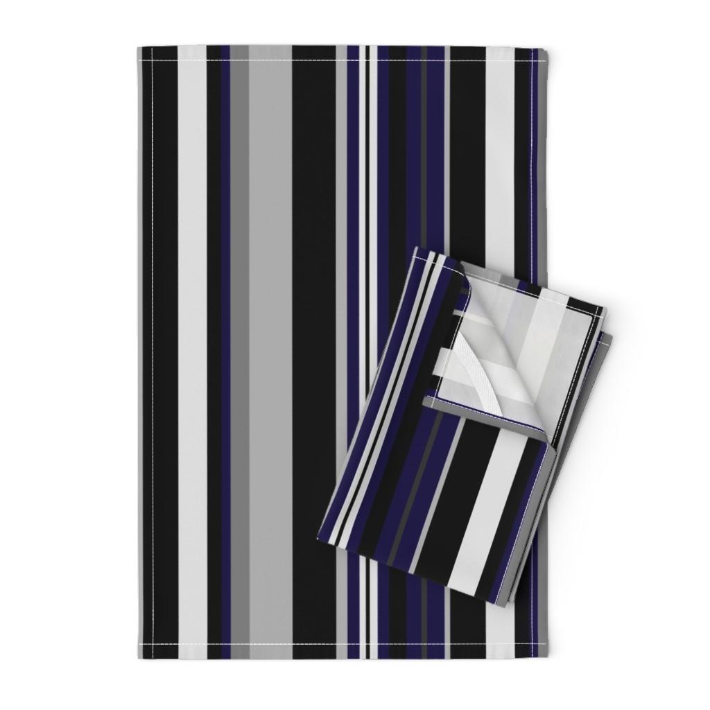 Orpington Tea Towels featuring UMBELAS STRIP 6 by umbelas