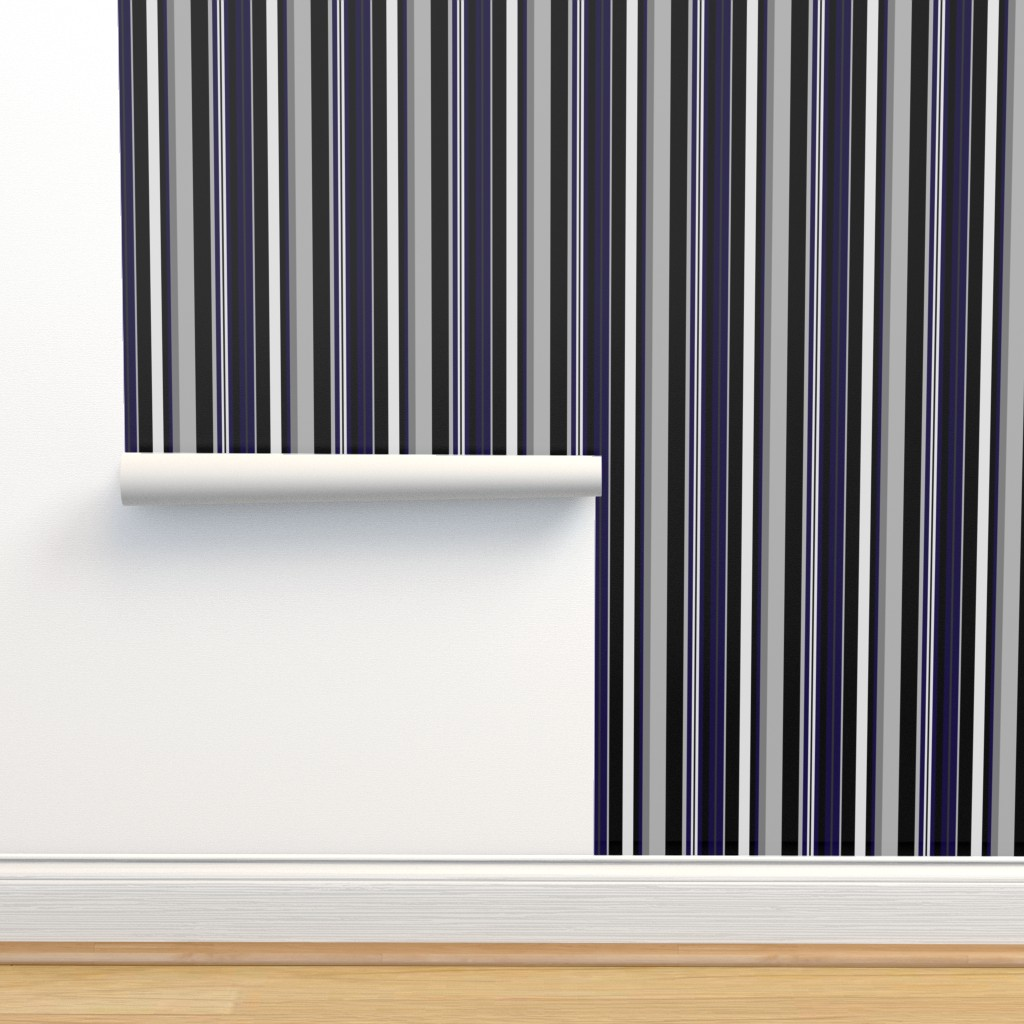Isobar Durable Wallpaper featuring UMBELAS STRIP 6 by umbelas