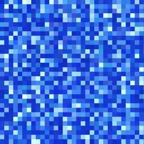 sapphire blue pixels