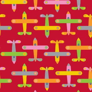 avion_rouge