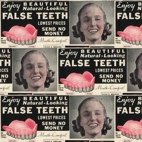 Enjoy Beautiul False Teeth