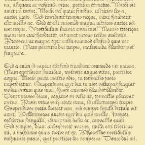 Lorem Ipsum - blackletter antique