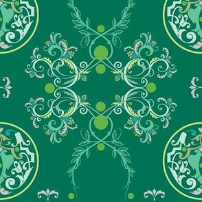 The Sun King Green