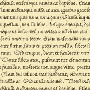 Continuous Lorem Ipsum - antique