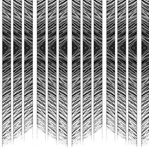 Chevron Columns