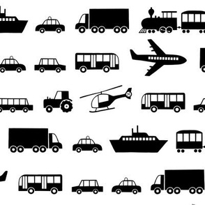 Vehicles black (small)