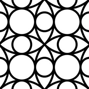05485202 : R4circlemix : black + white