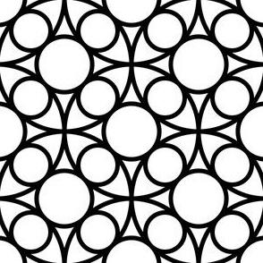 05485203 : R4circlemix  X: black + white
